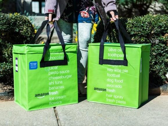 Livraison: Amazon songe à fusionner Fresh et Prime Now
