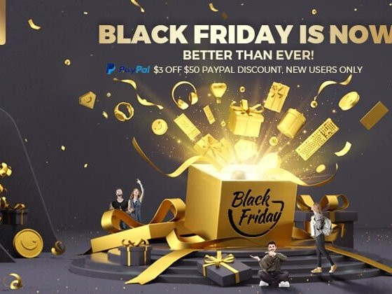 Black Friday, les bons plans High Tech et maison Gearbest