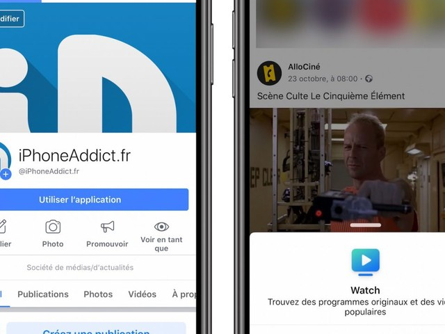 Facebook permet de retirer les icônes et points de notifications sur son application
