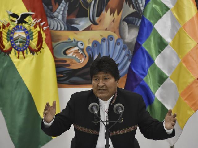 """Bolivie : le président Morales compare la grève générale à un """"coup d'Etat"""""""