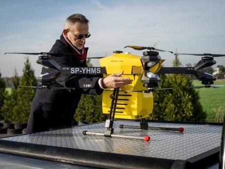 Pologne: Drones sauveteurs à la conquête du ciel