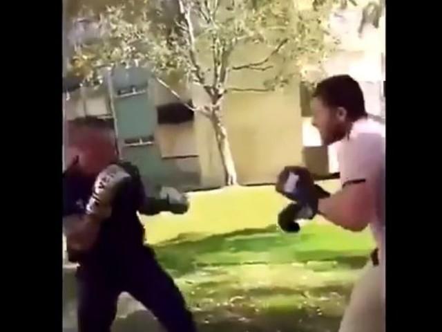 VIDÉO : En Bretagne, un policier se livre à un combat de boxe avec un caïd en pleine rue