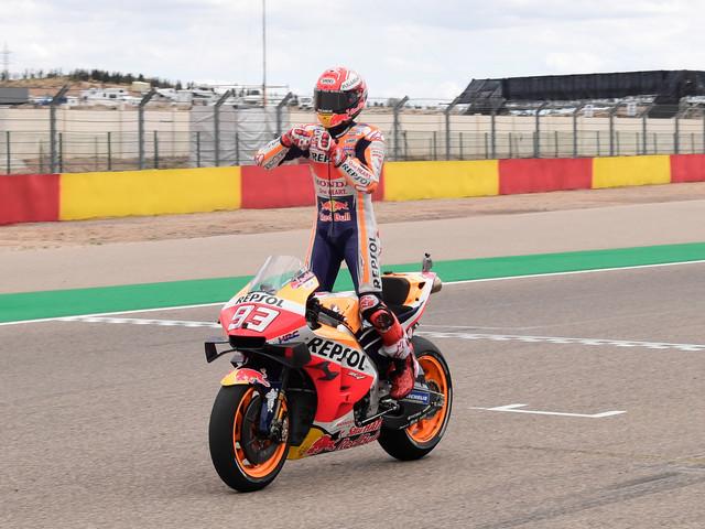 GP d'Aragon: Marquez intouchable se rapproche encore d'un 6e titre