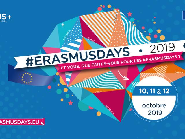 7 bonnes raisons de participer aux Erasmusdays 2019