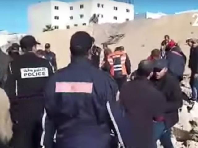 L'effondrement d'un mur à Casablanca fait au moins deux morts et trois blessés
