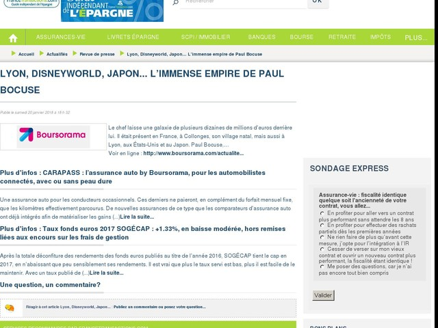 Lyon, Disneyworld, Japon... L'immense empire de Paul Bocuse