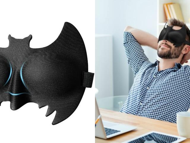 [TOPITRUC] Un masque de nuit Batman