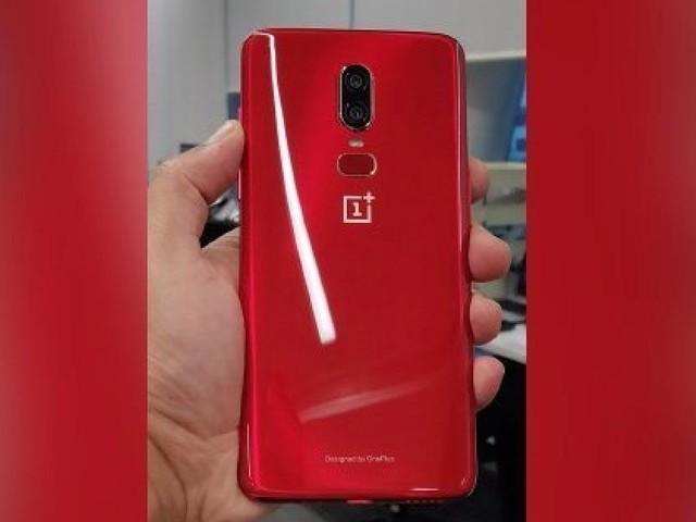 OnePlus 6 : Un coloris rouge présenté pour juillet en vidéo