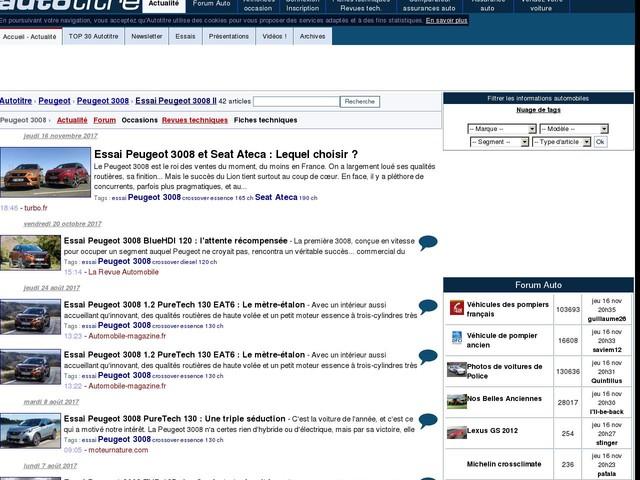 Essai Peugeot 3008 et Seat Ateca : Lequel choisir ?