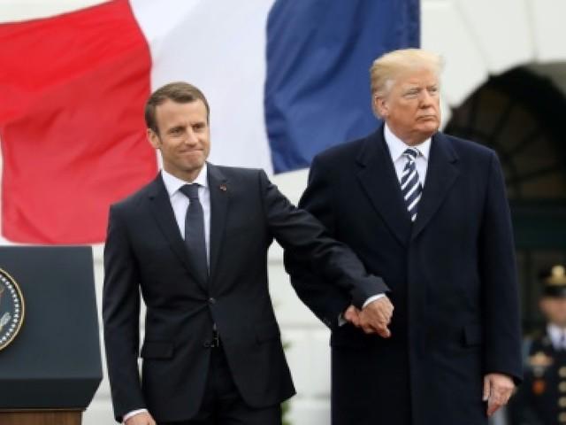 Entre Macron et Trump, l'ambiance fraîchit