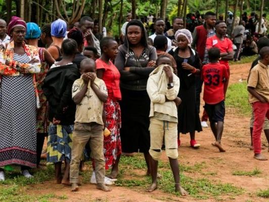 Dans le «triangle de la mort» de la RDC, Oicha enterre ses martyrs