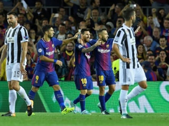 Ligue des champions: le Barça de Messi se venge de la Juve