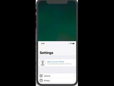 """La fonction """"Reachability"""" des iPhone 4,7 et 5,5 pouces prévue sur l'iPhone X ?"""