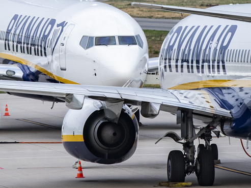 """Grogne chez Ryanair: une action """"internationale"""" sera menée le 27 septembre"""
