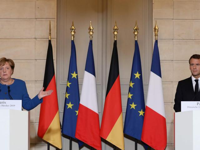 Syrie: Emmanuel Macron et Angela Merkel appellent à la fin de «l'invasion turque»