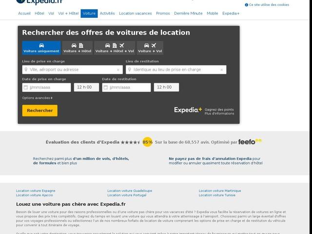 Location voiture : louez une voiture au meilleur prix | Expedia.fr