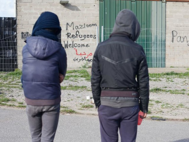 Calais: un an après la jungle