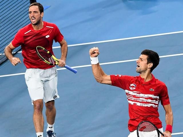 Djokovic et Troicki offrent le titre à la Serbie