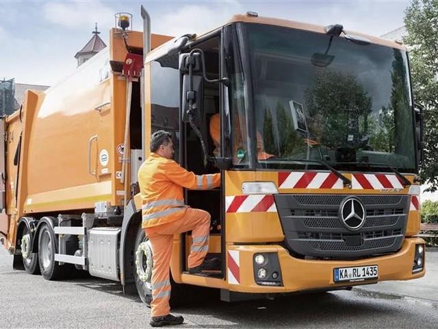 Mercedes eEconic : un camion électrique pour la collecte des déchets