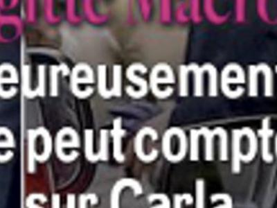 Carla Bruni, visage transformé, étonnants sms à Brigitte Macron (photo)