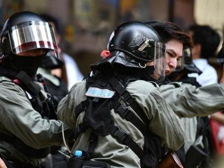 Un homme qui se disputait avec des manifestants à Hong Kong transformé en torche humaine