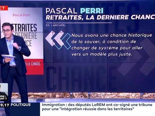 """On a lu pour vous le livre """"Retraites, la dernière chance"""" de Pascal Perri"""