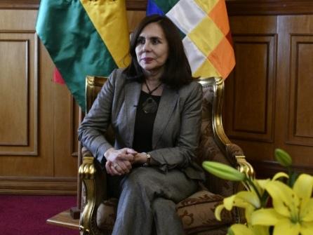 """Bolivie: """"Nous devions agir face à l'ingérence vénézuélienne"""", assure la cheffe de la diplomatie"""