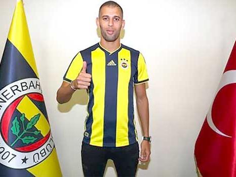Slimani accueilli en star au Fenerbahçe !