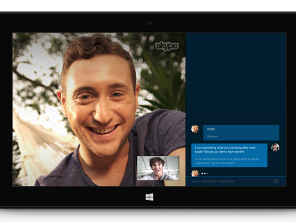 Microsoft lance le français sur Skype Translator