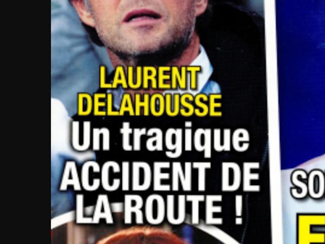 Laurent Delahousse, tragique accident de la route