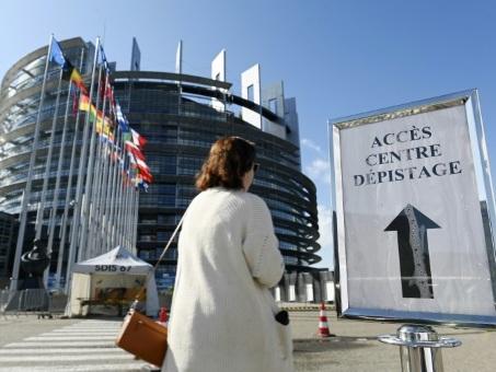 A Strasbourg, le Parlement européen devient centre de dépistage du coronavirus