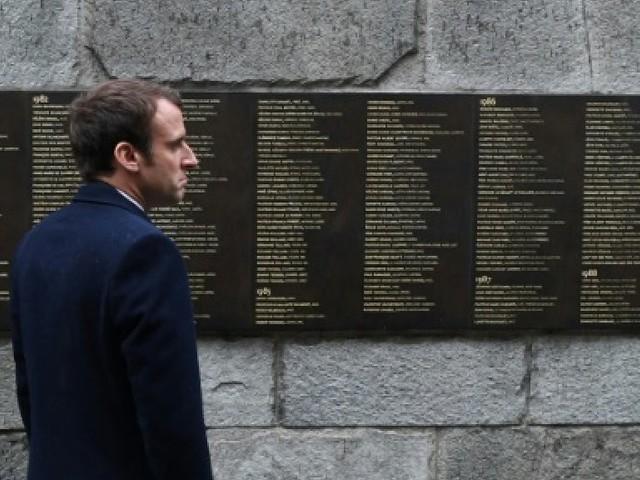 """Macron au Mémorial de la Shoah: ce qui s'est passé """"ne doit plus jamais advenir"""""""