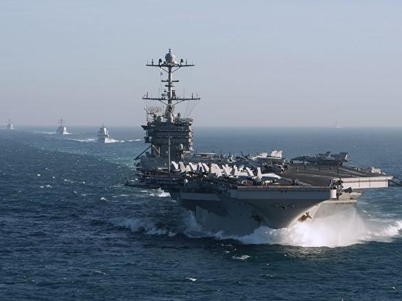 Un porte-avions américain rate son entrée en mission et rentre se faire réparer, une première
