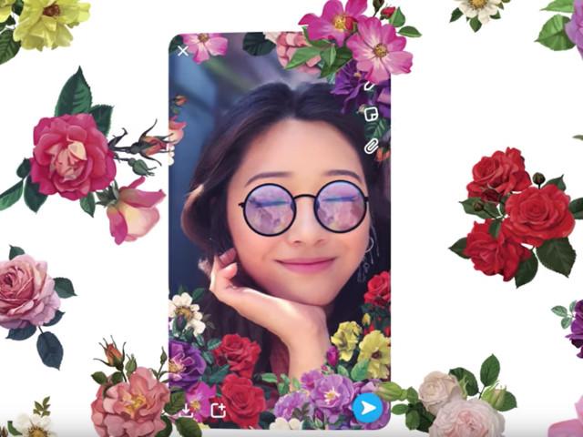Snapchat : un nouveau mode sur iPhone pour des Snaps en 3D