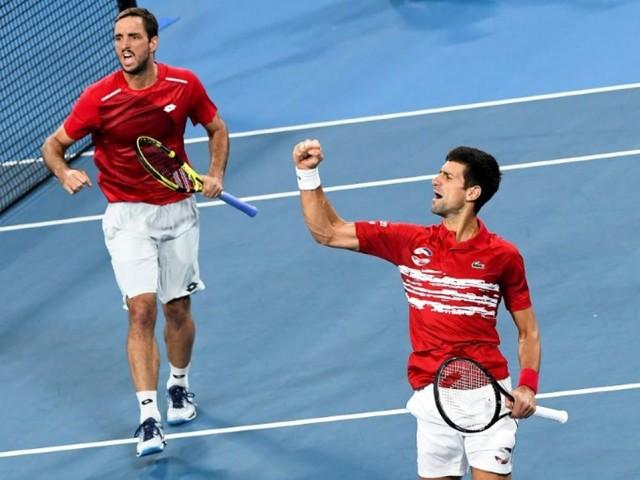 ATP Cup: la Serbie de Djokovic renverse l'Espagne en finale