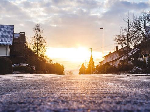 Prévisions météo: des plaques de glace et de givre pourraient rendre les routes glissantes aujourd'hui