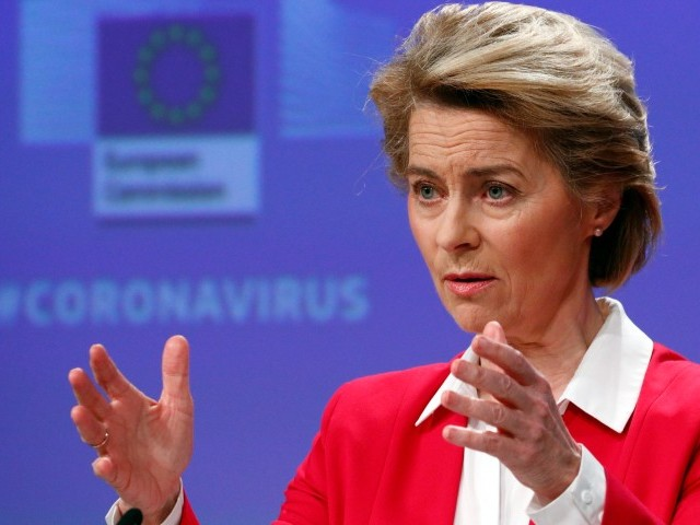 """La présidente de la Commission européenne veut un """"plan Marshall"""" contre les effets de la pandémie sur l'économie"""