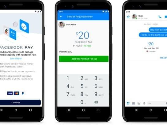 Facebook se lance de la paiement mobile avec Facebook Pay