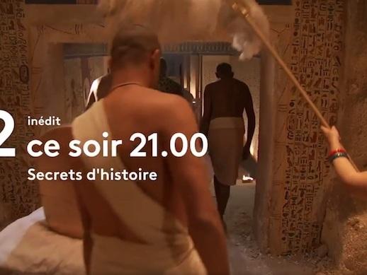 Ce soir dans «Secrets d'histoire» : Ramsès II, Toutânkhamon, l'Égypte des pharaons sur France 2 (vidéo)