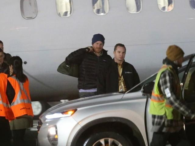 Le prince Harry est arrivé au Canada : retrouvailles avec Meghan et Archie
