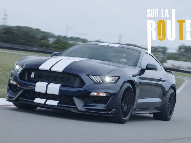 Sur la route : Ford Mustang Shelby GT350
