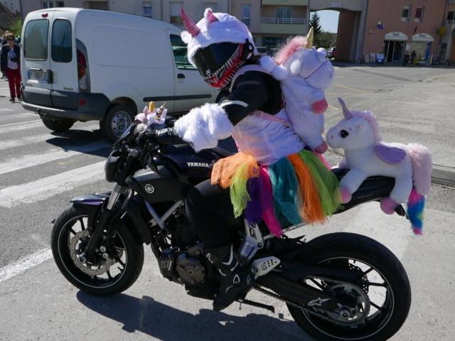Carnaval des motards : journée haute et en couleurs pour les Tontons Flingueurs