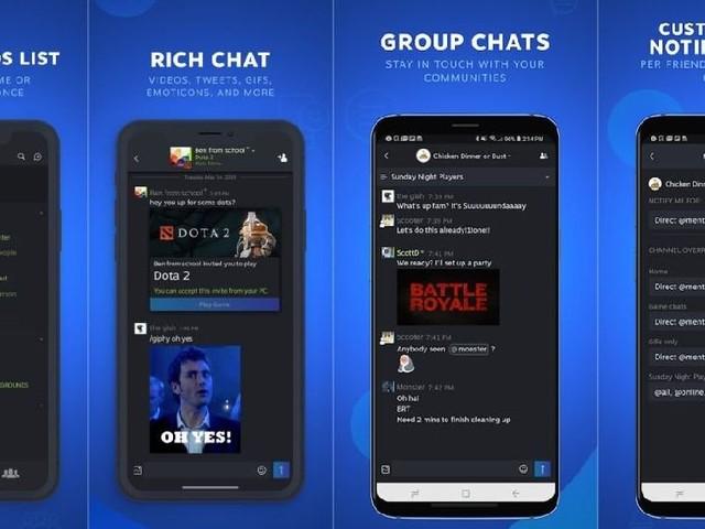 Steam Chat : l'app «sociale» de Steam est disponible sur iOS (sortie App Store)
