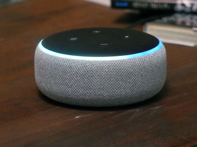 Amazon divise par deux le prix de L'Echo Dot (3e gen)