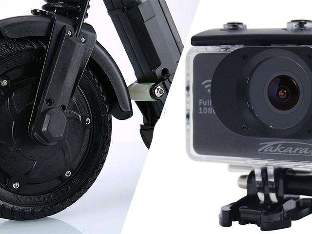 Caméra sport Full HD à moins de 40€ et une trottinette électrique Ultra Glide en promo !