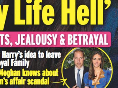 Prince Harry, Meghan Markle, déballage intime, détails sur l'infidélité de William (photo)