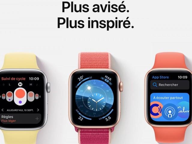 watchOS 6 est disponible pour l'Apple Watch : voici les nouveautés