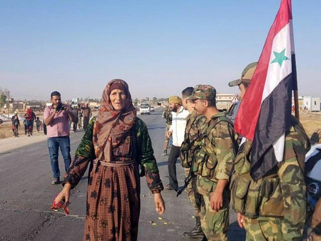 Les forces du régime syrien progressent dans l'est du pays