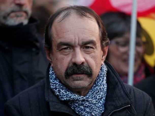 «Nous n'avons pas à porter le chapeau de tout ce qui se passe dans le pays»: Philippe Martinez dénonce le CGT-bashing