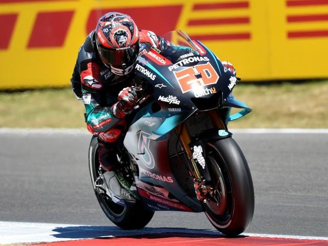 GP Valence-Libres MotoGP: Quartararo confirme, Rossi au tapis